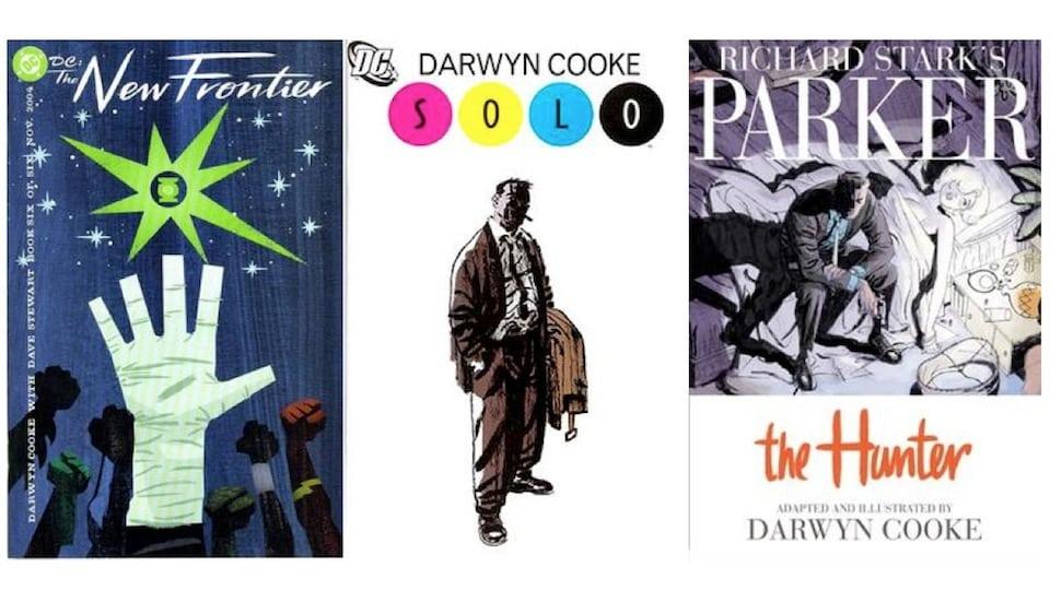 Darwyn Cooke book covers (Fair Use)