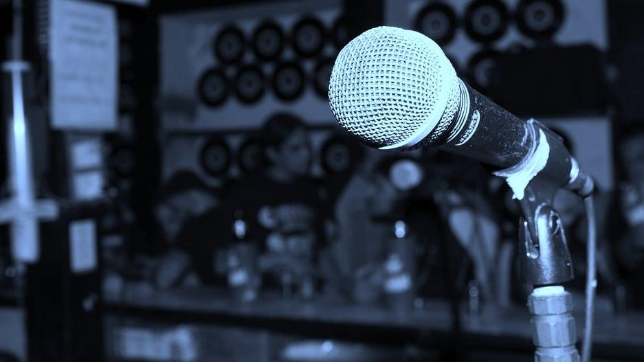 Rock bar microphone