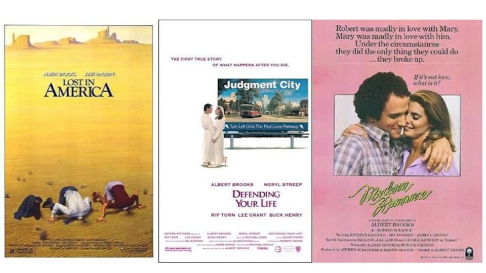 Albert Brooks movies