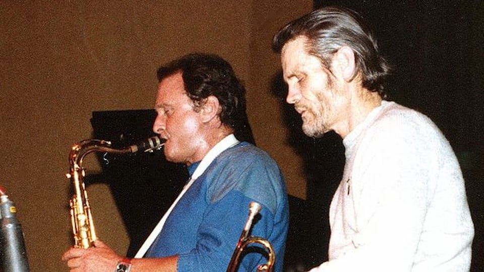 Stan Getz and Chet Baker