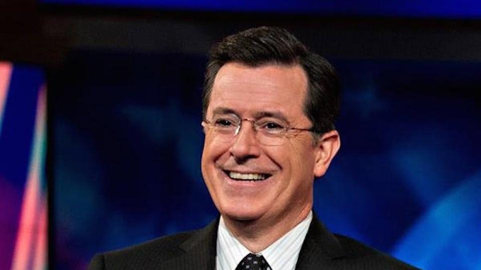 Stephen Colbert in Suit PD