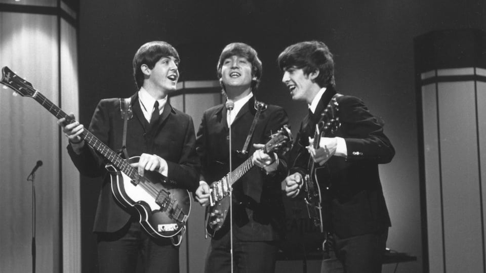 Three Beatles courtesy of Getty Images