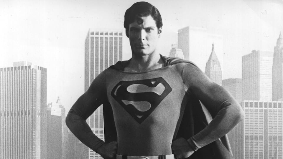 Christopher Reeve as Superman courtesy of Getty Images