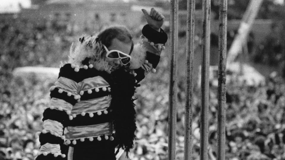 Elton John 1974 Courtesy of Getty Images