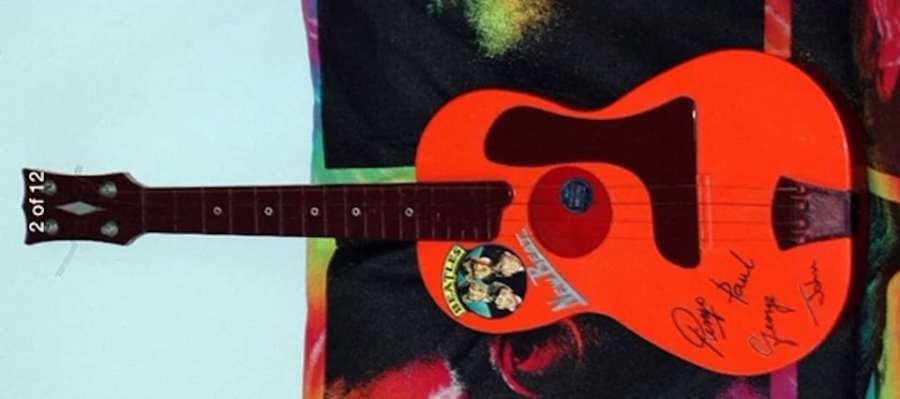 Beatles Toy Guitar