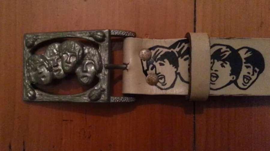 Beatles Belt with Buckle
