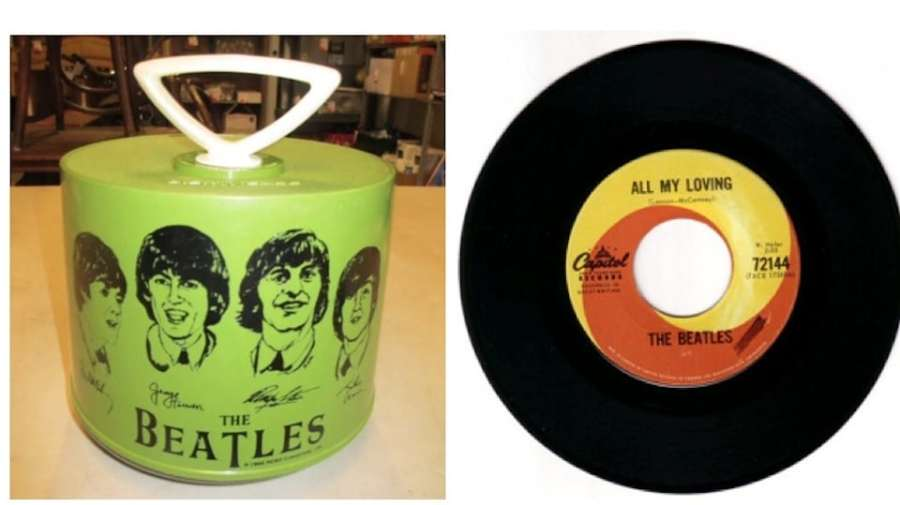 Beatles 45 Record Holder