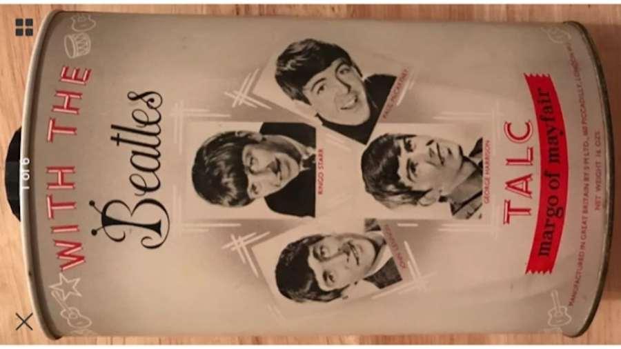 Beatles Talcum Powder