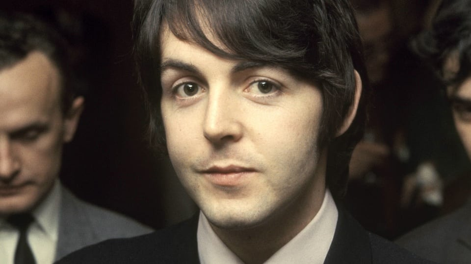 Paul McCartney circa 1968/9 courtesy of Getty Images