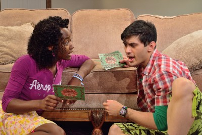 Ryan Carlo as Peter, Billie Krishlawn as Judy