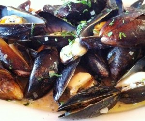 Mussels at Bar Tabac.