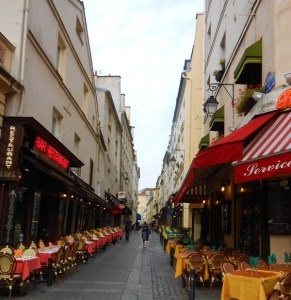 ParisStreet: moveable feast