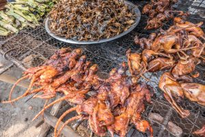 Battambang meats. Photo by Brian Cicioni.