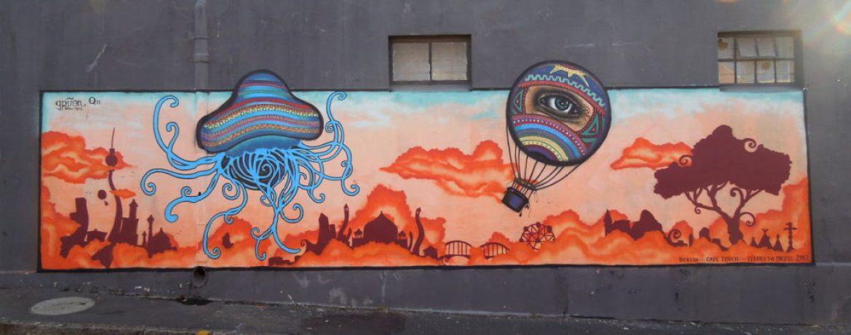 Street Art By Senor Gruen - Cape Town