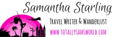 Samantha Starling traveling