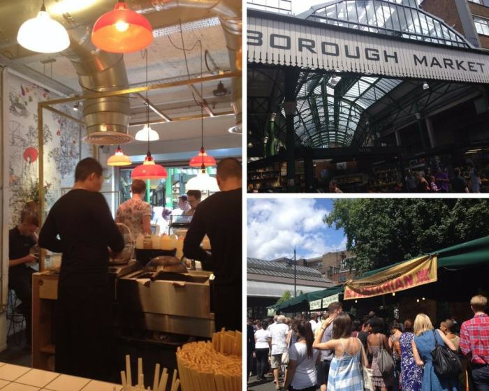 london walking tours and food markets
