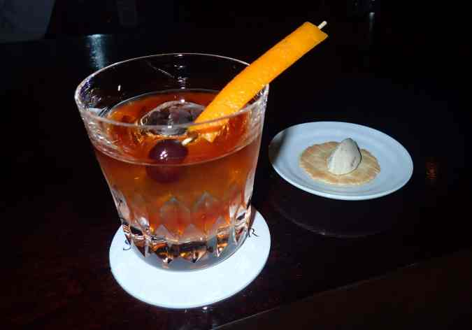 Star Bar Ginza Old Fashioned