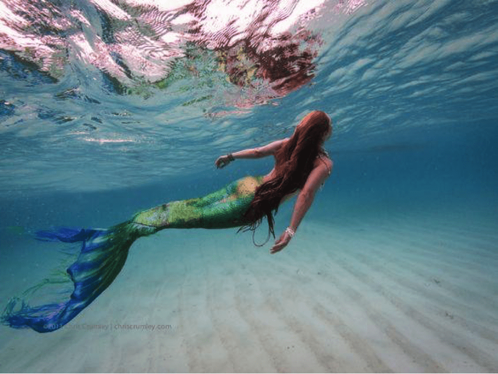 mermaid in Boracay