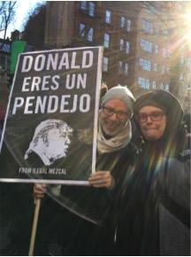 Steph protest