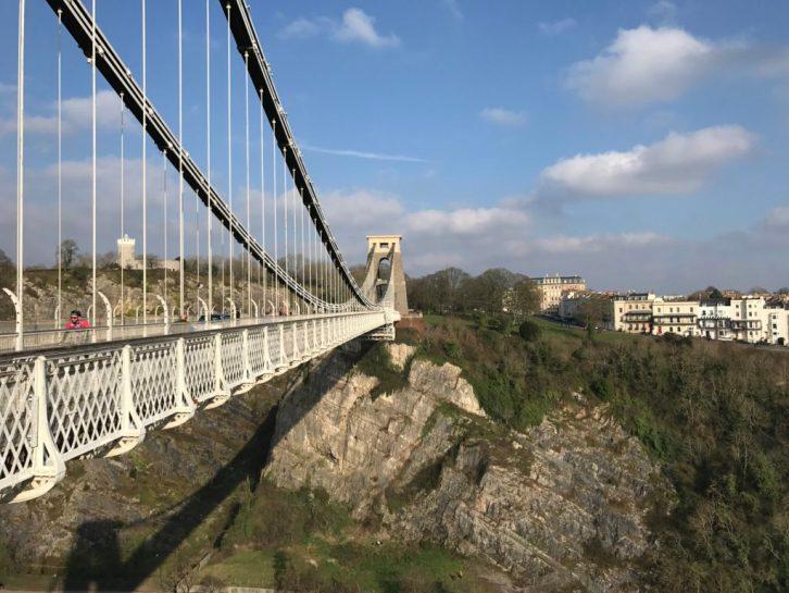 Clifton Suspension Bridge by Heather Cowper