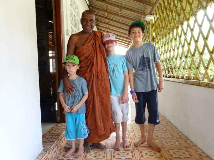 Cultural Understanding: thai monk