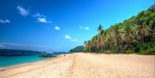 Puka Beach in Boracay - Photo courtesy of cyril4494 via Flickr