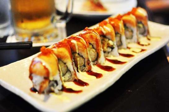 Sushi. (Photo credits:http://dinehere.ca)