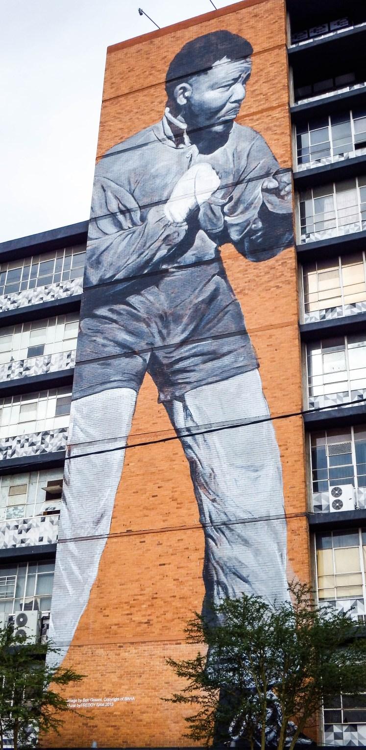 Mandela Street Art in Maboeng