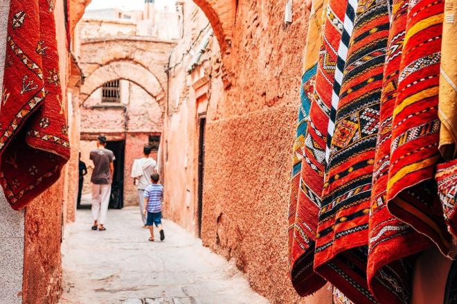 exploring in morocco