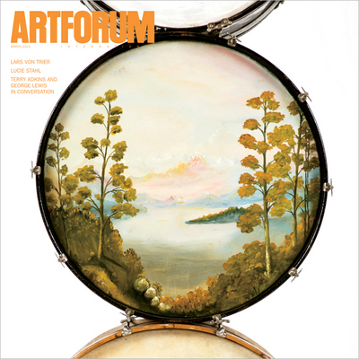 terry adkins - art forum cover