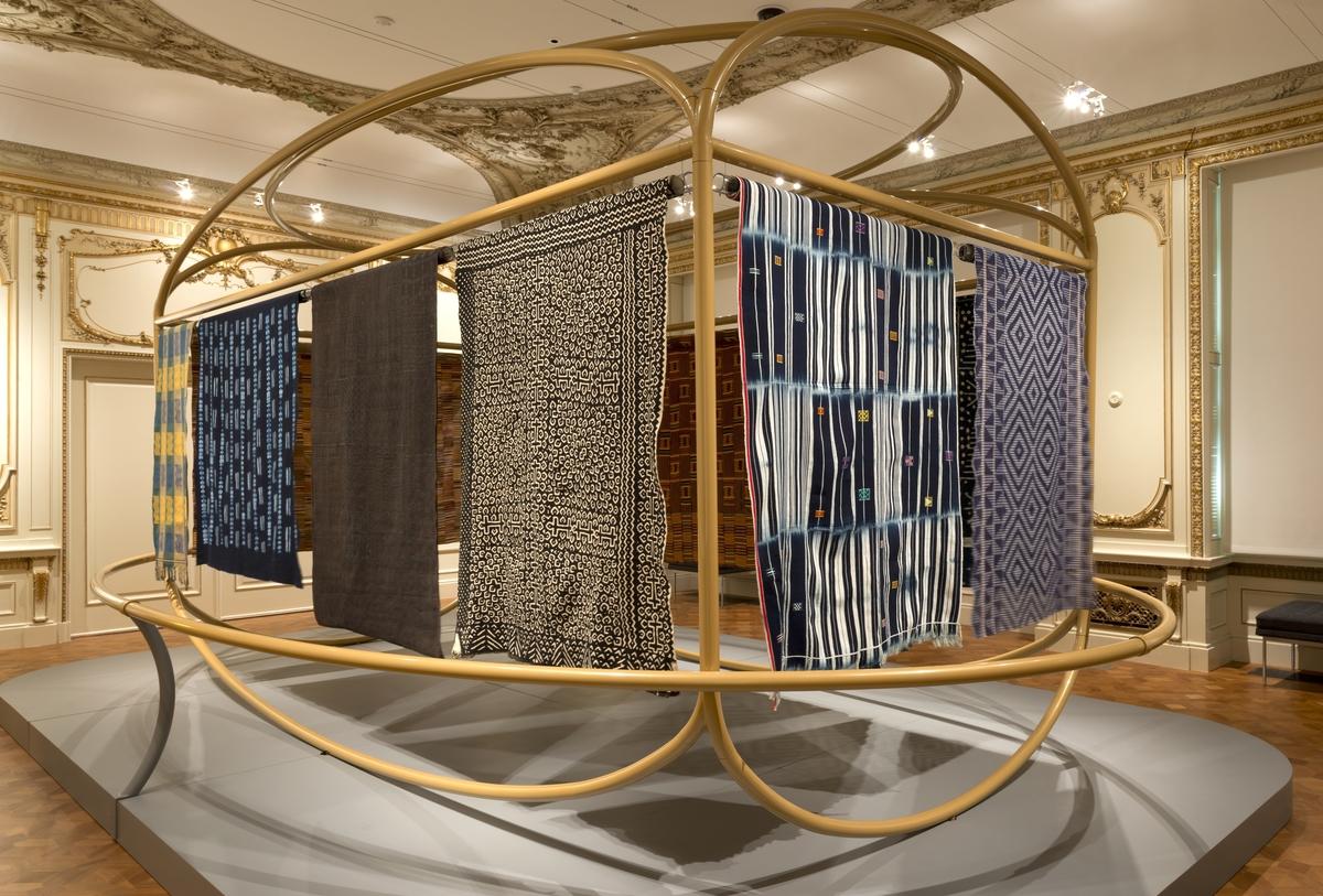 "Installation view of ""David Adjaye Selects."" Photo: Allison Hale © 2015 Cooper Hewitt, Smithsonian Design Museum."