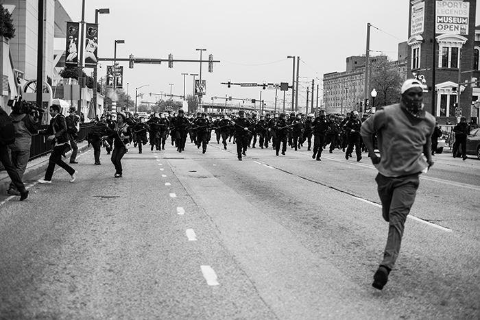DEVIN ALLEN - Running From Police