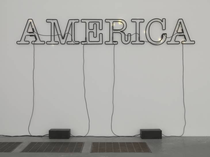 Untitled 2006 Glenn Ligon born 1960 Purchased with funds provided by the American Fund for the Tate Gallery 2008 http://www.tate.org.uk/art/work/T12928