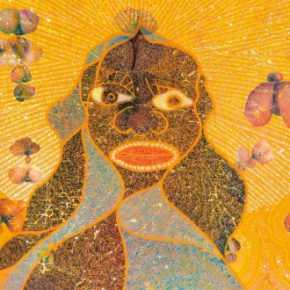 Chris Ofili's 'Holy Virgin Mary' Make News Again, This Time Setting Auction Record