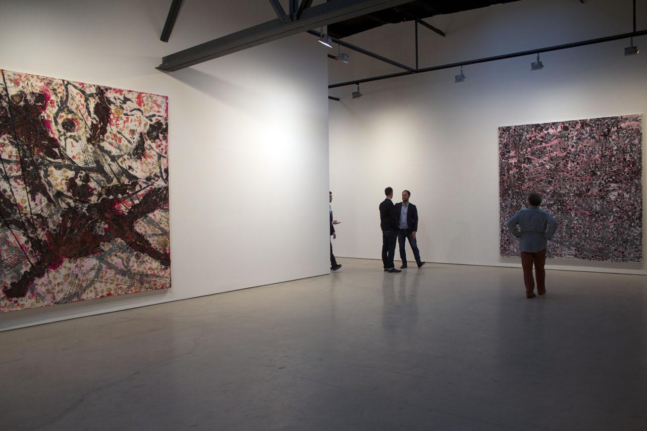 Mark Bradford - Installation view - Be Strong Boquan - Photo by Victoria L. Valentine