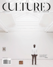 David Adjaye - Cultured Mag cover Feb:March 2015