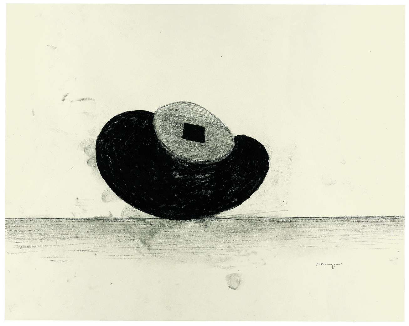 8. Puryear_Drawing for Maroon_1986 88