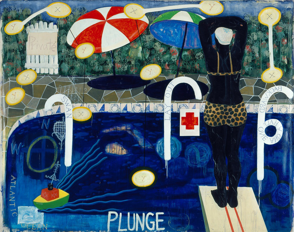 'Plunge' by Kerry James Marshall Sells for $2.1 Million at Christie's, a New Artist Record