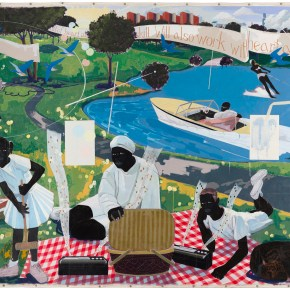 Priced to Set New Artist Record, 'Past Times' by Kerry James Marshall is Consigned to Sotheby's by Chicago Convention Center