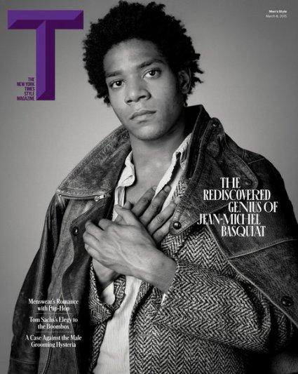 Basquiat - T mag - spring 2015