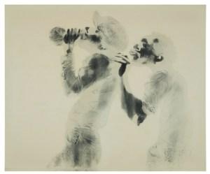DAVID HAMMONS - The WIne Leading the Wine - 1969