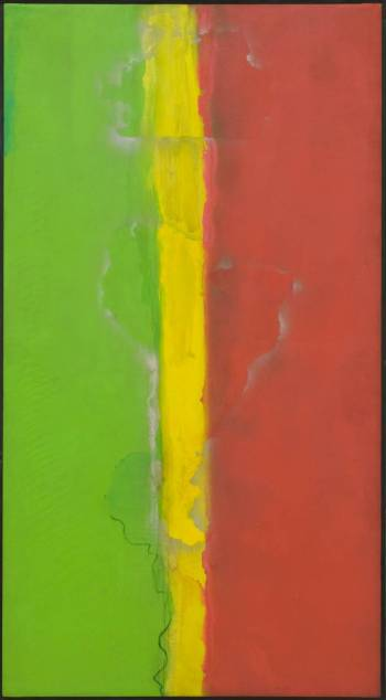 Who's Afraid of Barney Newman 1968 Frank Bowling born 1936 Presented by Rachel Scott 2006 https://www.tate.org.uk/art/work/T12244