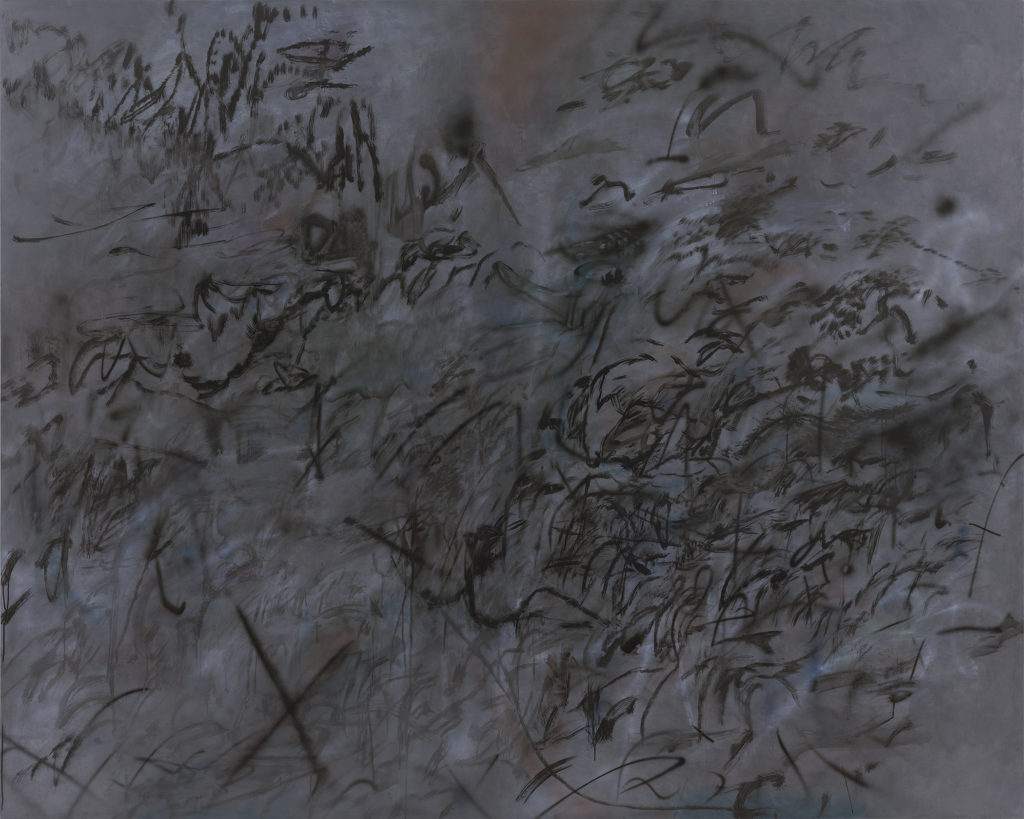 JULIE MEHRETU - Conjured Parts (tongues) - 2015