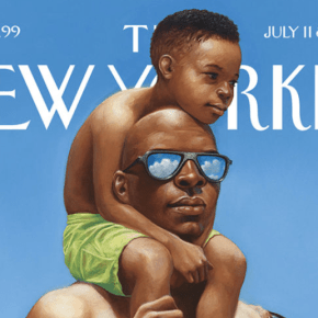 For The New Yorker, Kadir Nelson Captures Summer at the Beach