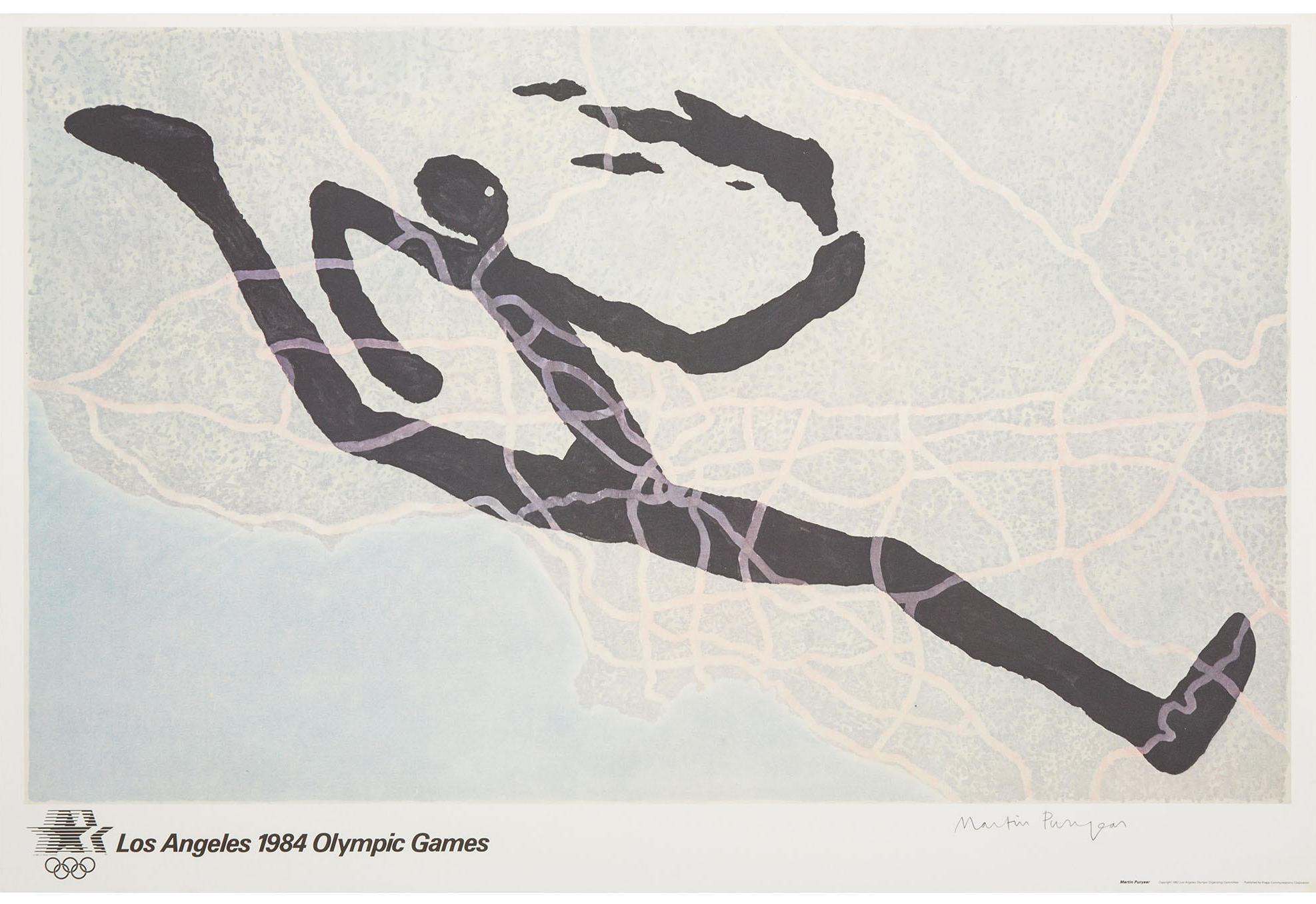 MARTIN PURYEAR - olympics - 1984
