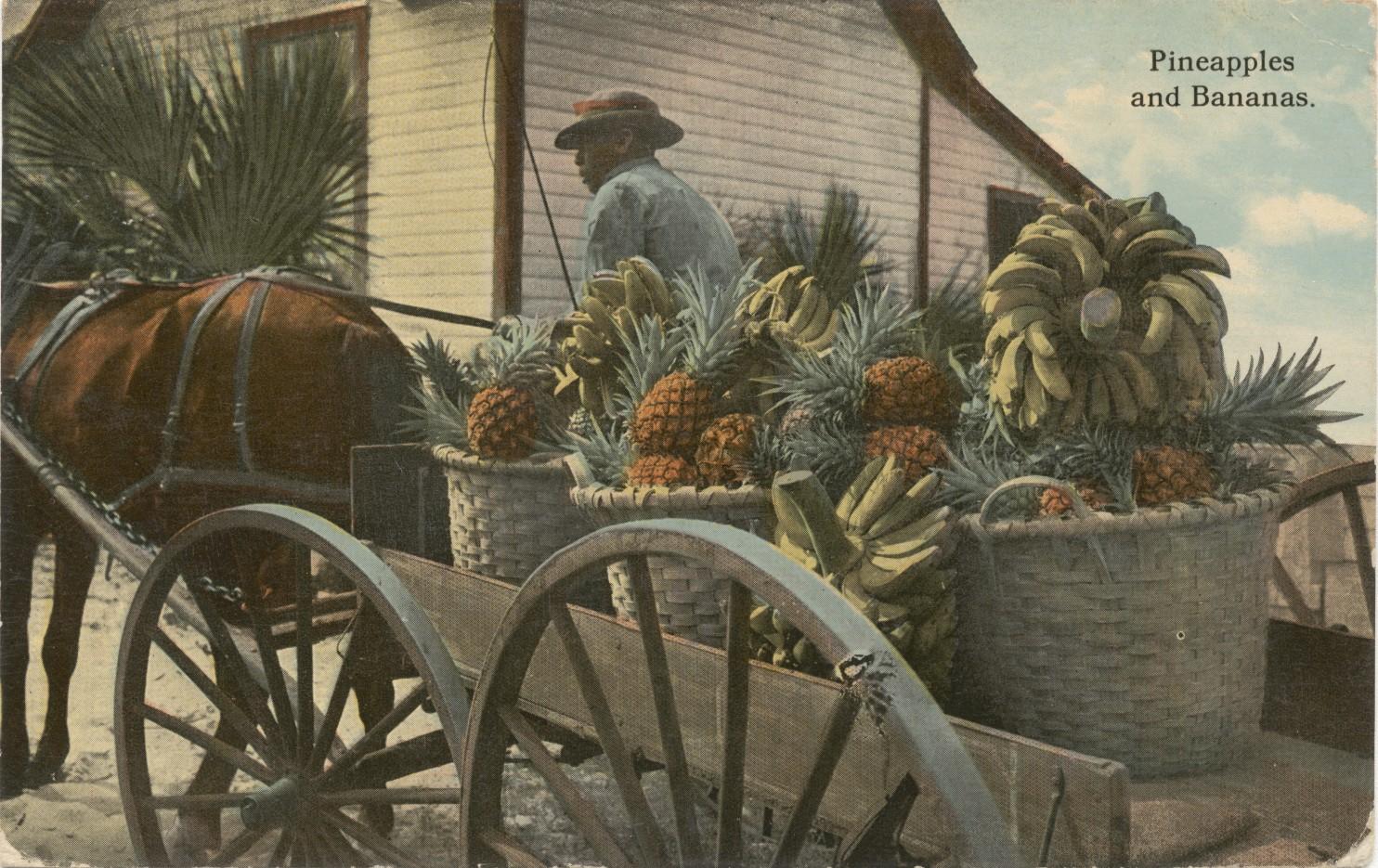 NMAAHC - Pineapples and Bananas