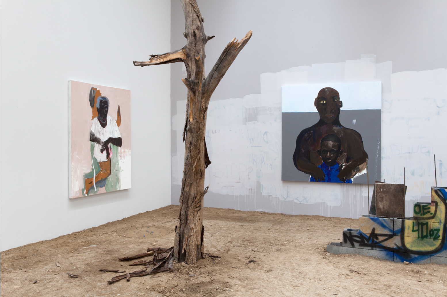 henry-taylor-installation-view-blum-poe-2016