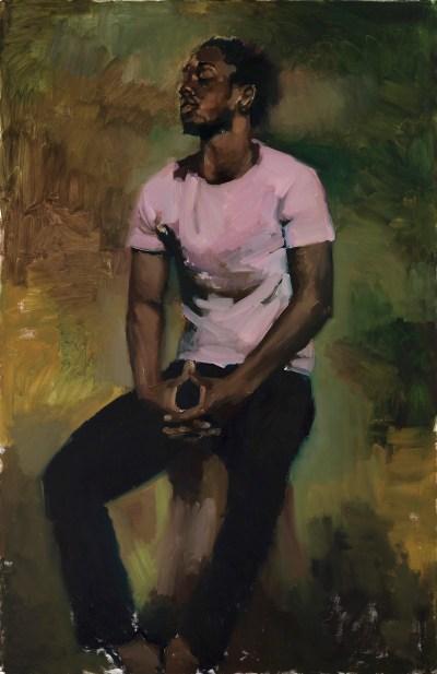 Lynette Yiadom-Boayke Works on Canvas