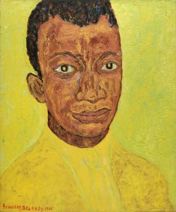 Beauford Delaney American, 1901-1979 Portrait of James Baldwin, 1965 Oil on canvas #2015.28