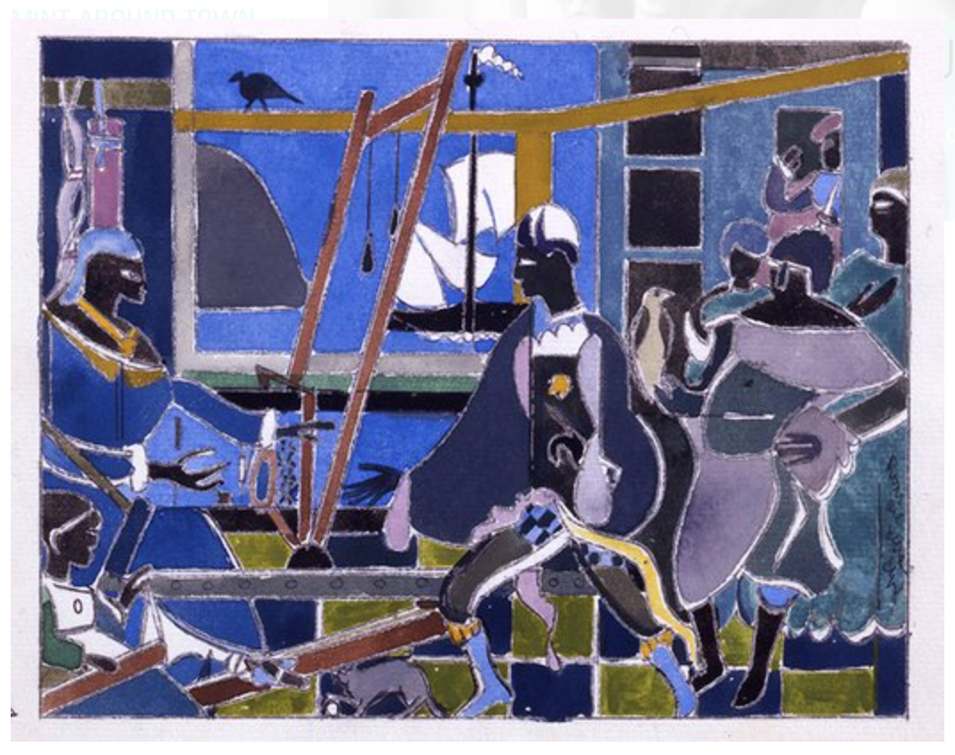 romare_bearden_the_return_of_odysseus_c_1977